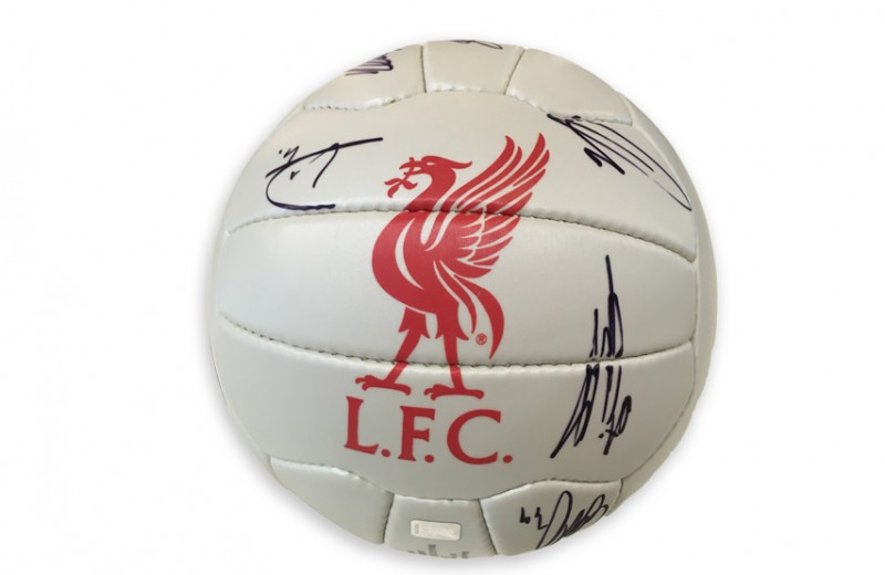 Official LFC Football Signed by the First Team