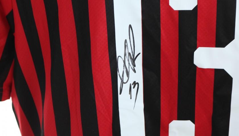 Romagnoli's Official AC Milan Signed Shirt, 2019/20