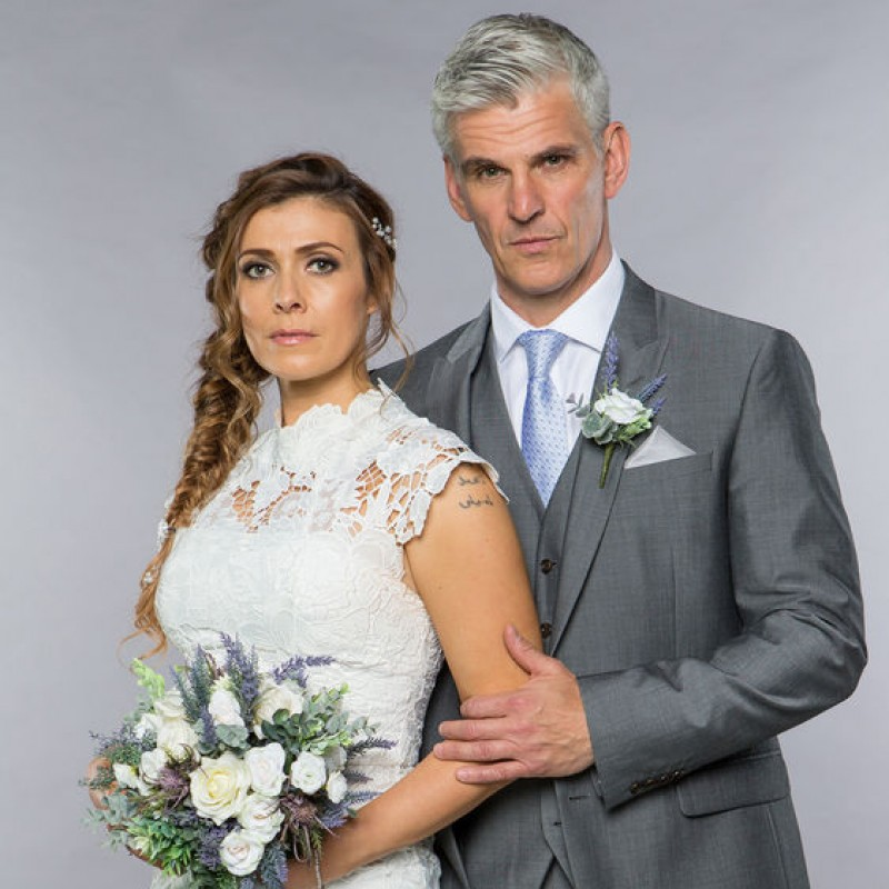 Wedding Dress Worn by Kym Marsh on Coronation Street