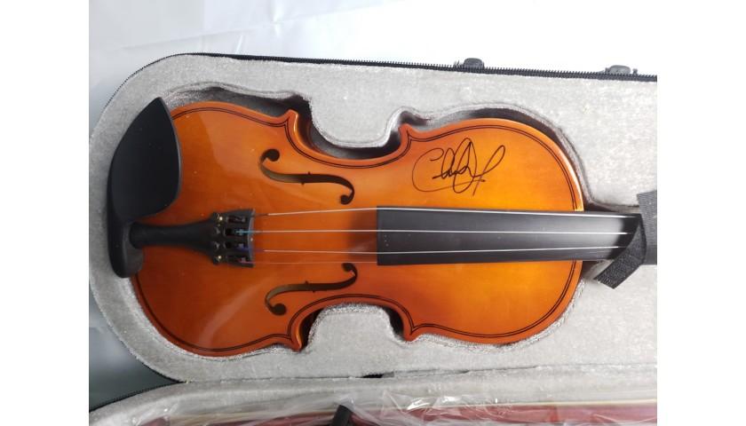 Charlie Daniels Hand Signed Fiddle