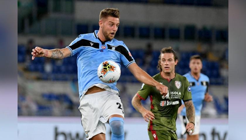 Milinkovic-Savic's Lazio Signed Undershirt