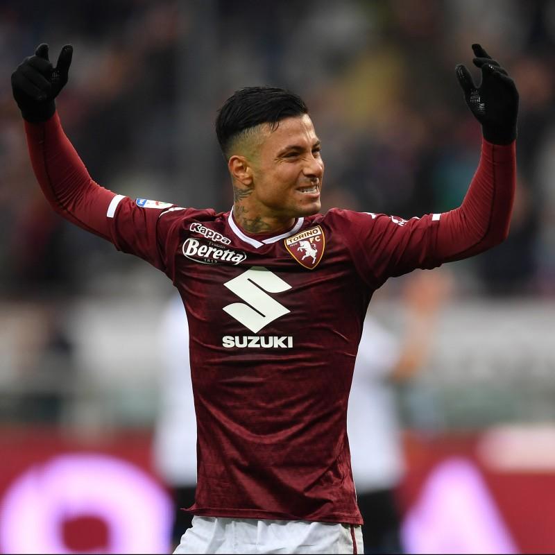 Izzo's Torino Worn Shirt, Serie A 2018/19
