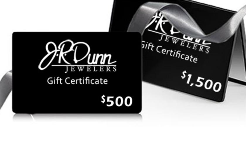 $2,000 GiftCard to JR Dunn Jewelers