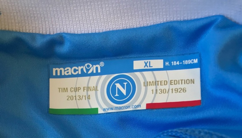 Higuain's Napoli Match Kit, TIM Cup Final 2014