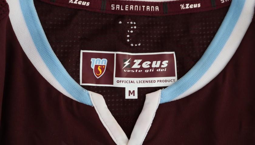 Dziczek's Worn Shirt, Salernitana-Spezia 2020