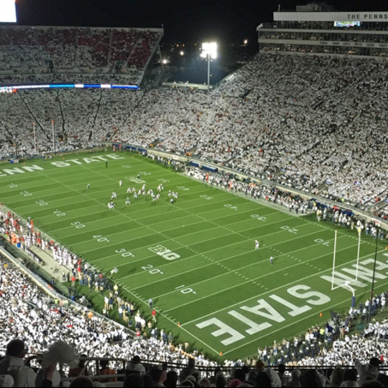 4 Tickets to Penn State Home Game at Beaver Stadium