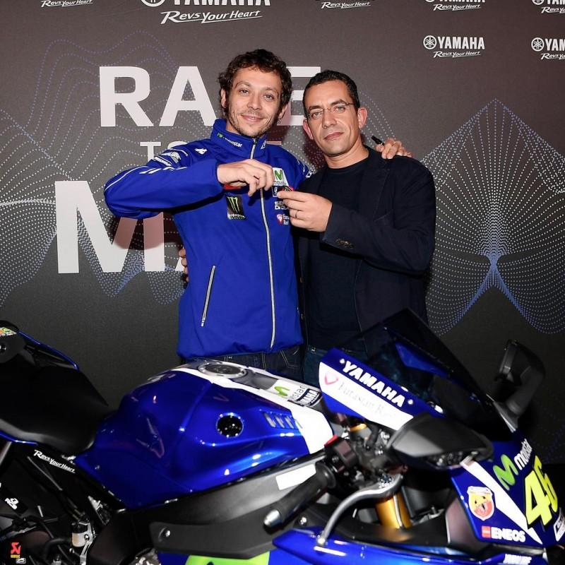 Marco incontra Valentino Rossi
