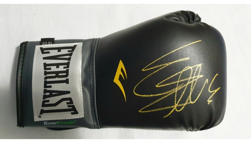 Boxing Glove Signed by Sylvester Stallone