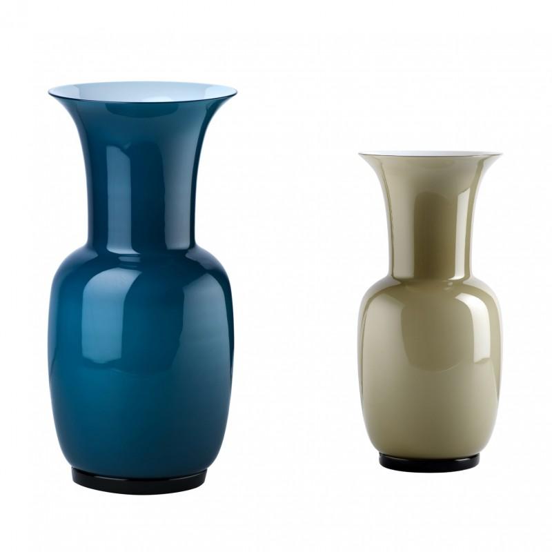 Venini Opalini Collection Vases