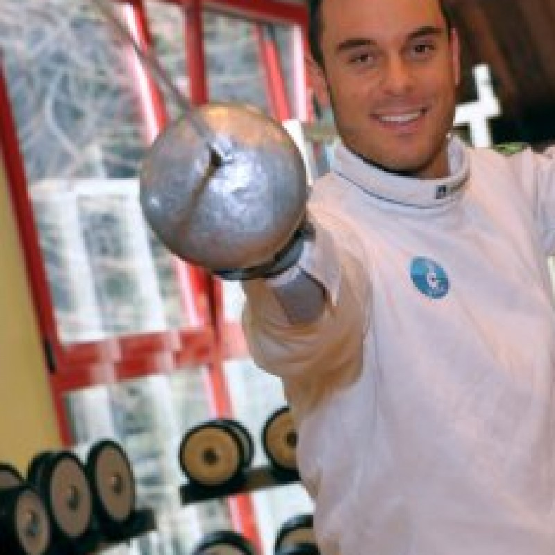 Fencing lesson with Paolo Pizzo