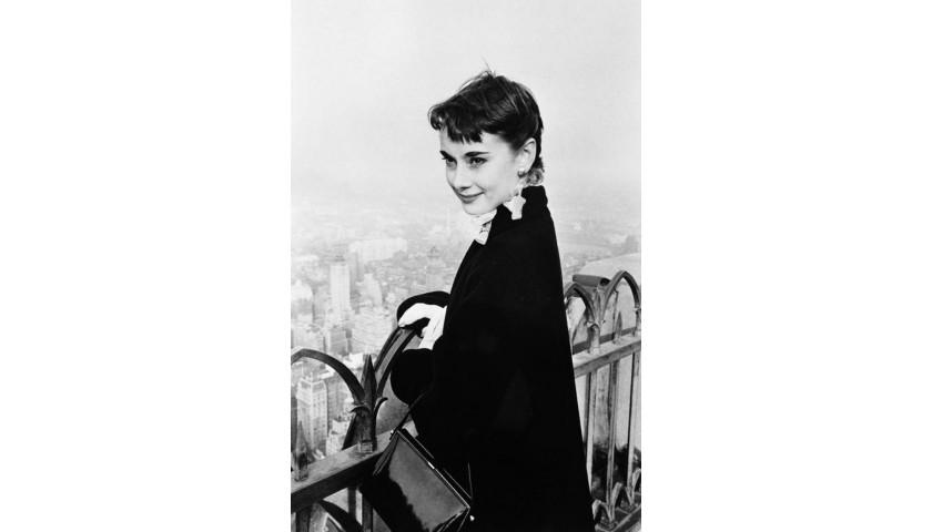 Audrey Hepburn in New York by George Douglas