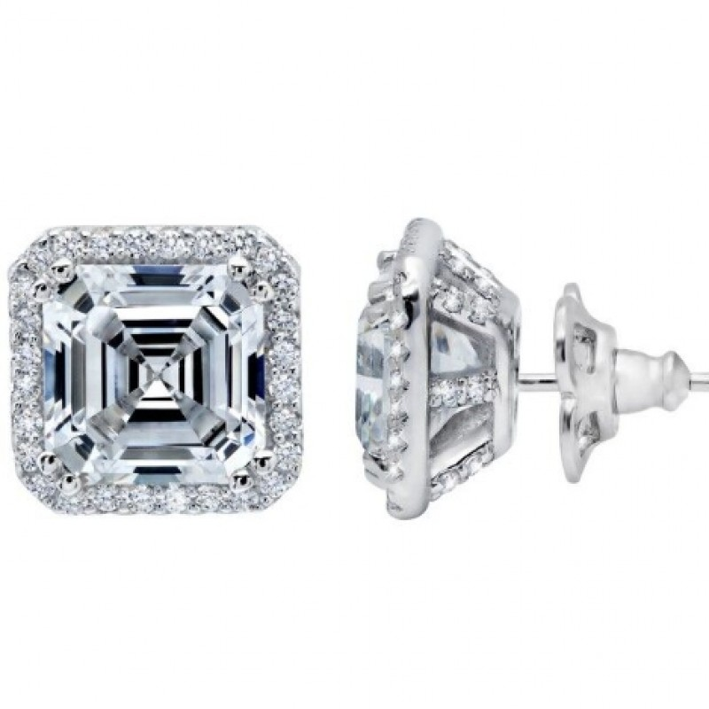 Lafonn's Signature Lassaire Simulated Diamond Earrings