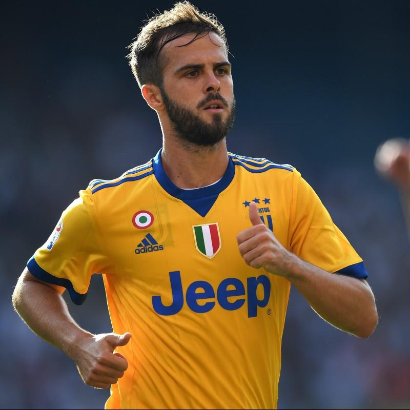 Pjanic's Official 2017/18 Juventus Signed Shirt