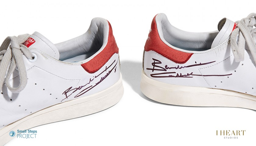 Benedict Cumberbatch Signed Shoes