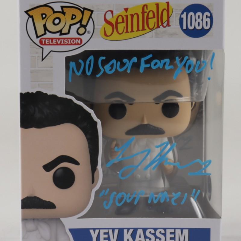 "Larry Thomas ""The Soup Nazi"" Signed Seinfeld Funko Pop! Figure"