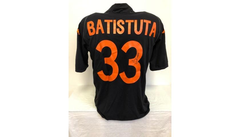 Batistuta's Official Roma Signed Shirt, 2002/03