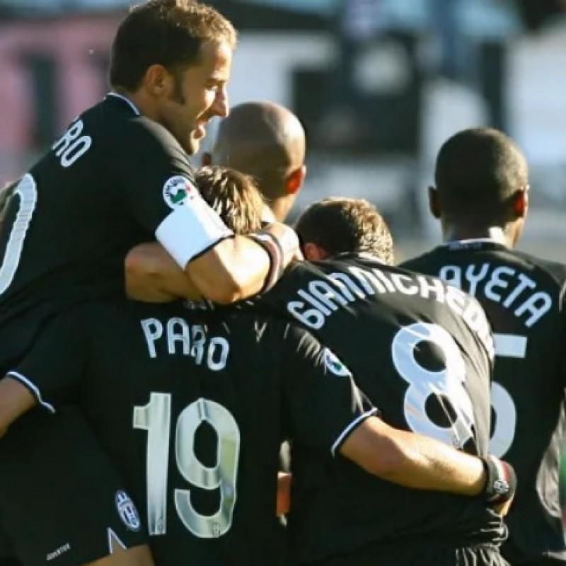 Zalayeta's Juventus Match Shirt, UCL 2006/07