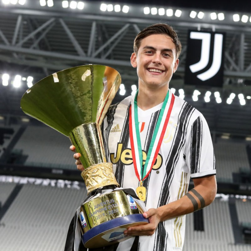 Juventus Celebratory T-Shirt, 2020 - Signed by Dybala