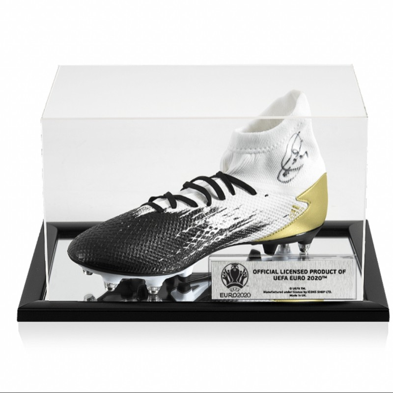 Xavi's Adidas Signed Boot - Official UEFA EURO 2020