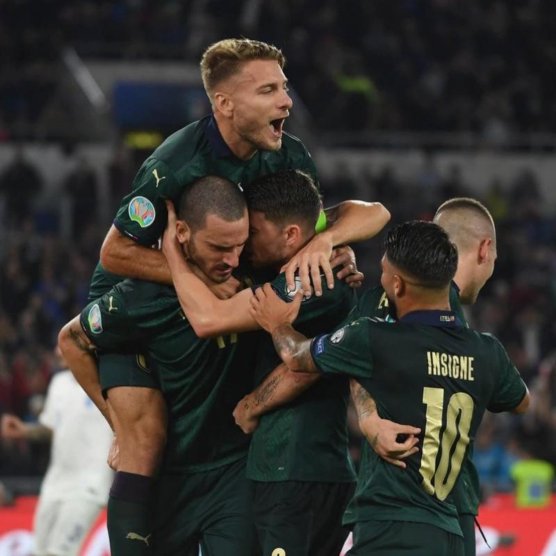Romagnoli's Match Shirt, Italy-Greece 2019