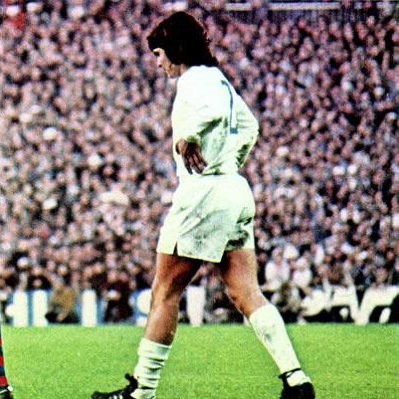 Camacho's Real Madrid Worn Shirt, 1974/75