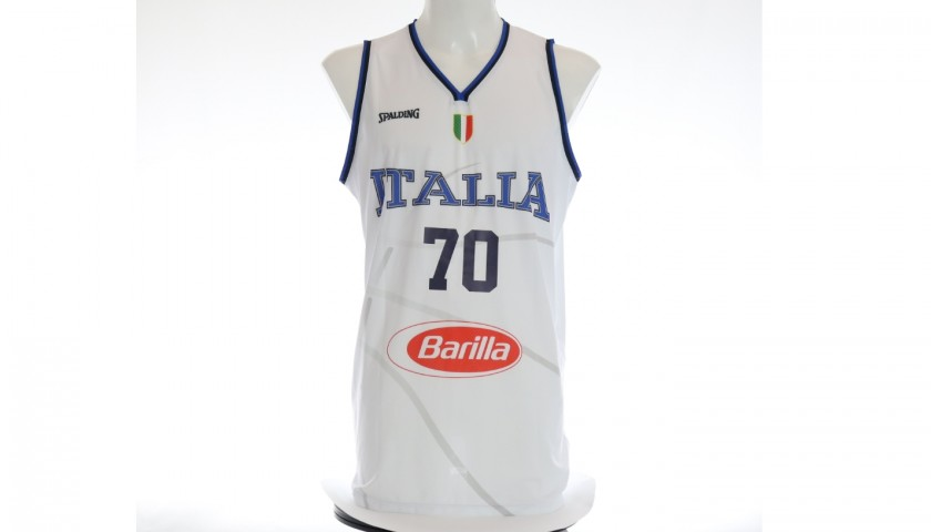 Datome's Official Italy Signed Vest, 2019