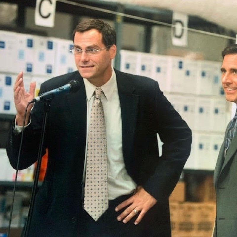 Virtual Hangout with Dunder Mifflin's CFO David Wallace from 'The Office'