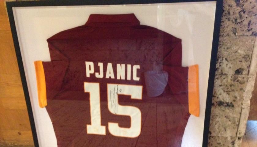 Pjanic Roma shirt framed - signed