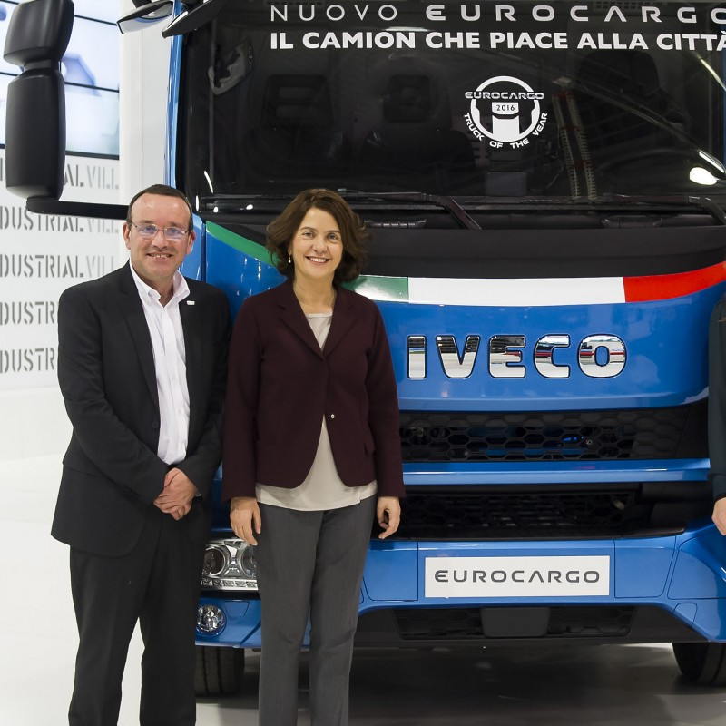 New Eurocargo IVECO - Truck of the year 2015