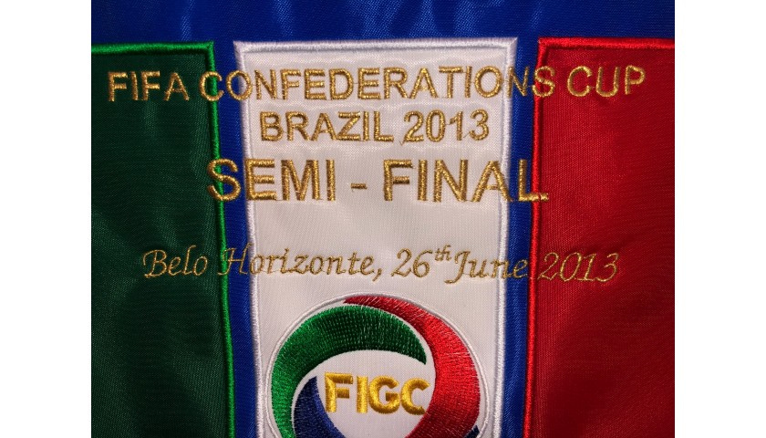 Official Italy Pennant, Confederation Cup Semi-Final 2013