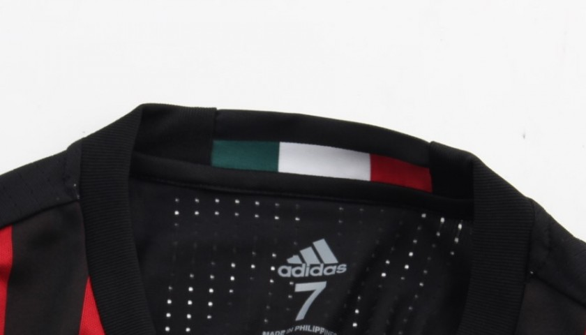 De Sciglio shirt, issued for Milan-Juventus, 15/16 Tim Cup Final