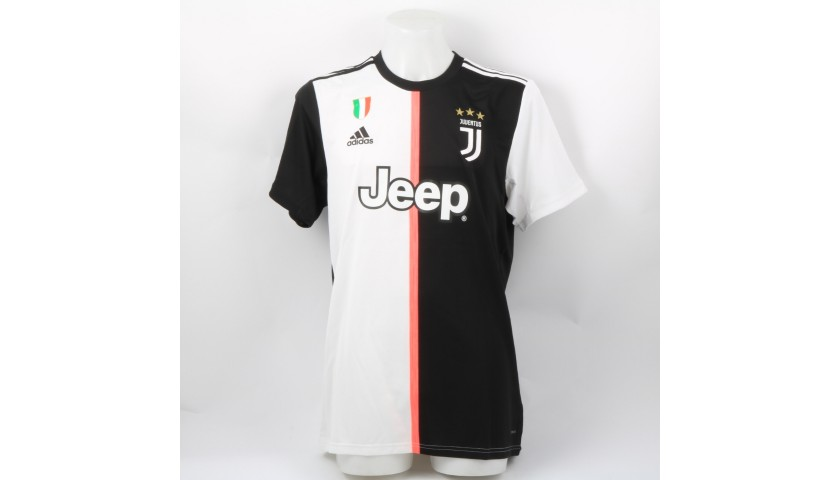 reputable site 62df6 b1cfa Ronaldo's Official Juventus 2019/20 Signed Shirt - CharityStars