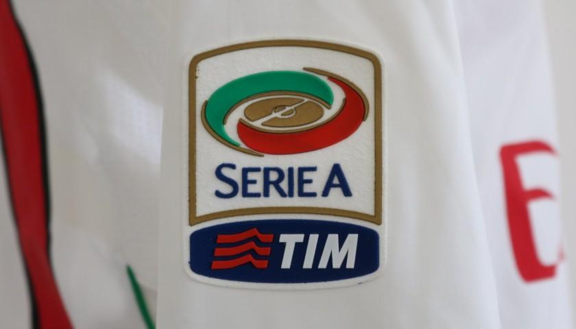 Seedorf's AC Milan Match IssueWorn Shirt, 201112 Season CharityStars