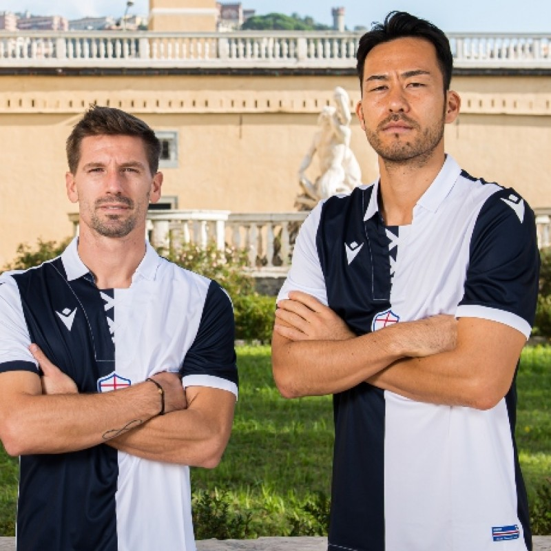 Yoshida's Match-Issued Kit, Sampdoria-Milan 2020, SPECIAL 120 Years Andrea Doria