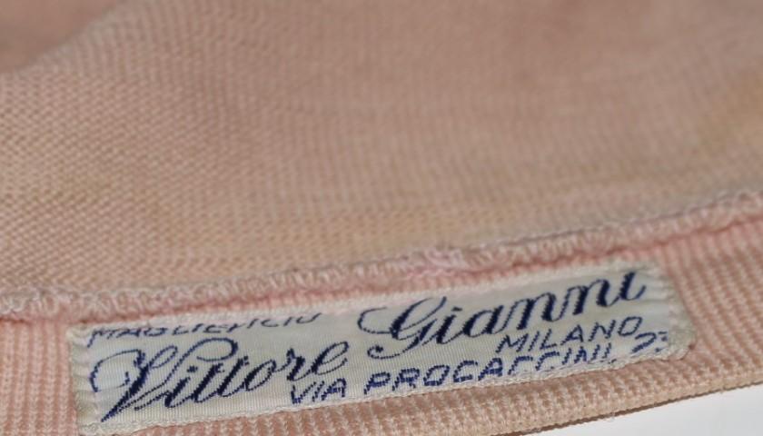 Maglia rosa worn by Giro d'Italia 1967 champion Felice Gimondi