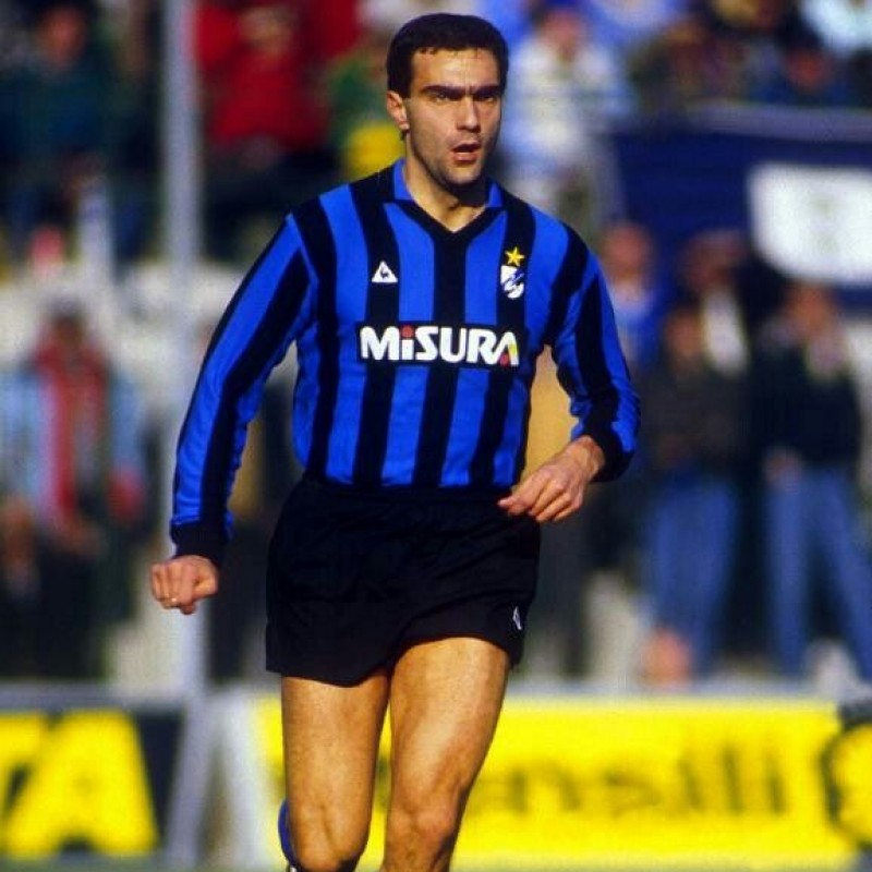 Bergomi's Official Inter Signed Shirt, 194/85