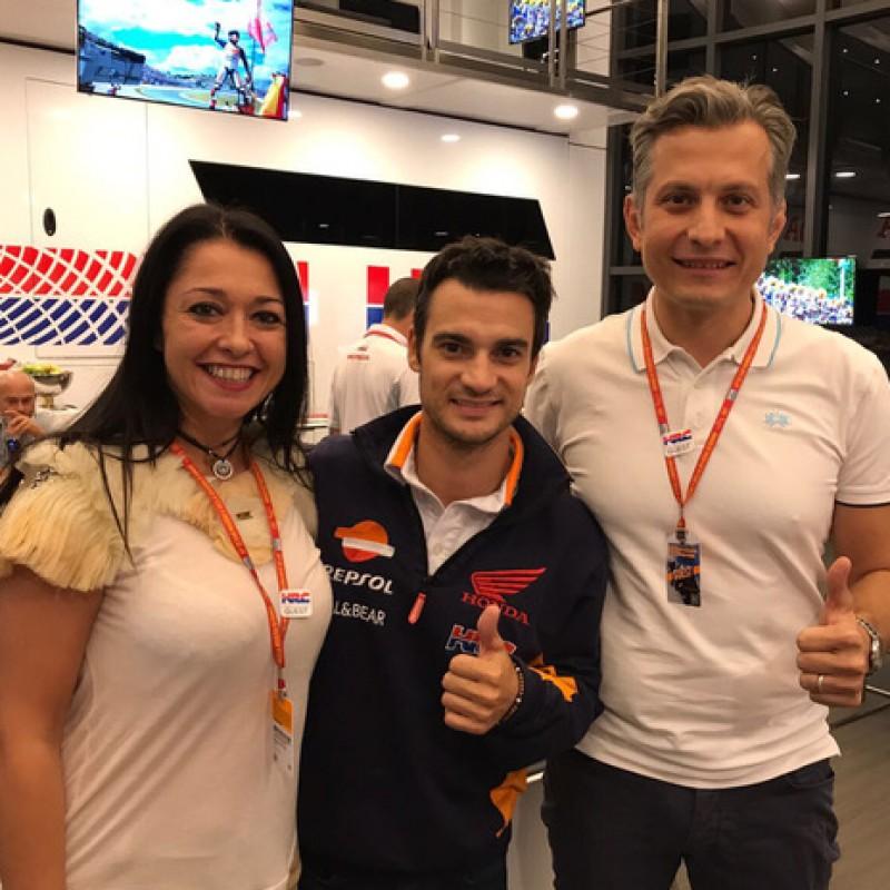 Incontro con i piloti Dani Pedrosa e Marc Marquez