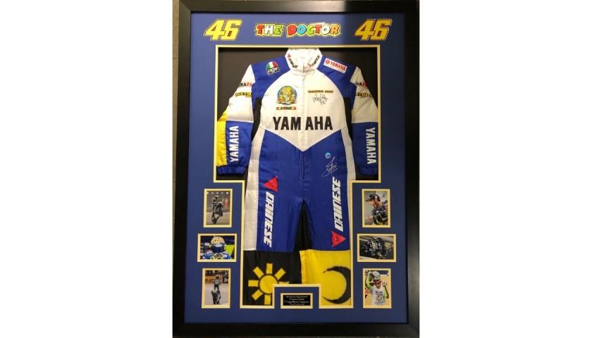 Valentino Rossi Signed Jumpsuit