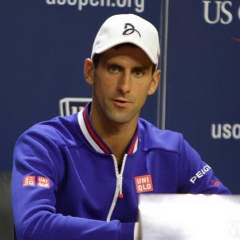 Djokovic Official Signed Cap