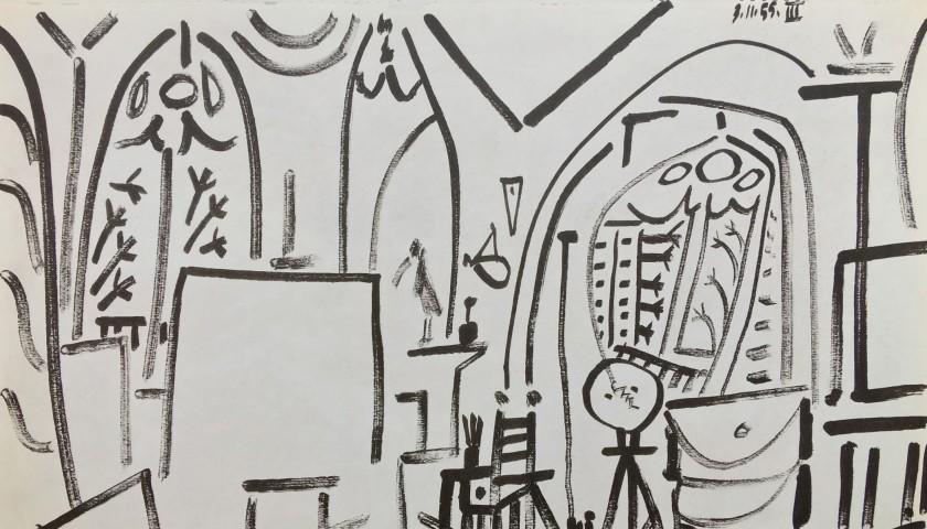 Pablo Picasso - Studio III