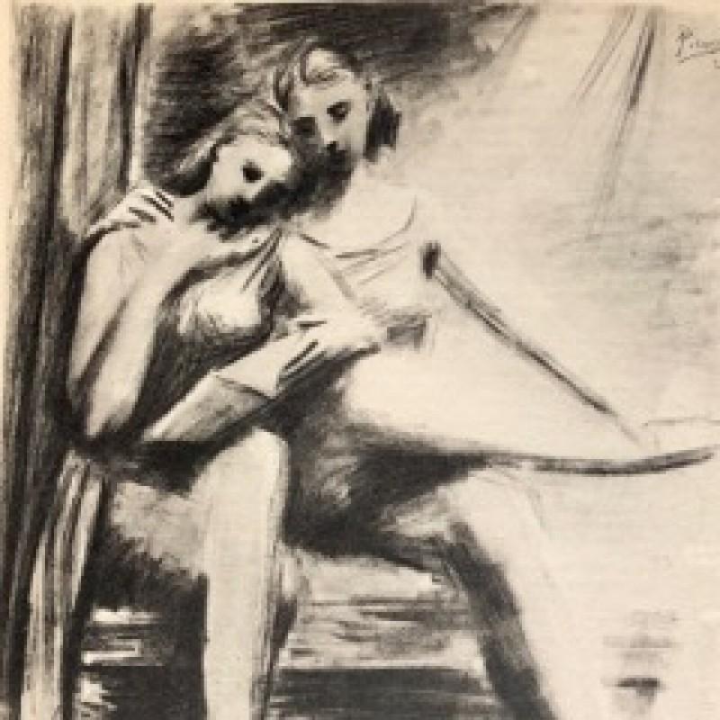 """""""Consoler les veuves"""" by Pablo Picasso"""