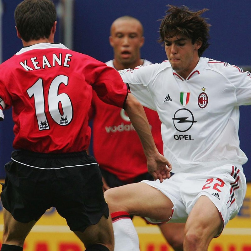 Kaka's Worn Shirt, AC Milan-Man United 2004