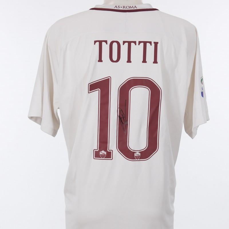 Maglia Francesco Totti 2016/2017 - Autografata