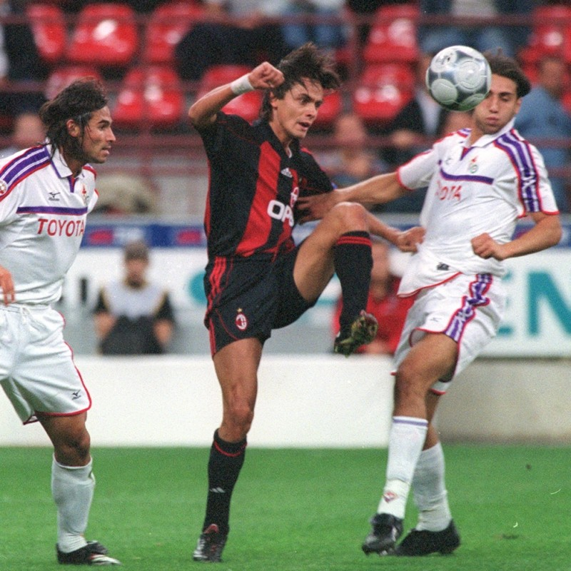 Inzaghi's Milan Match Shorts, Serie A 2001/02