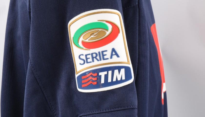 Lavezzi's Napoli Worn and Signed Shirt, 2010/11 Season