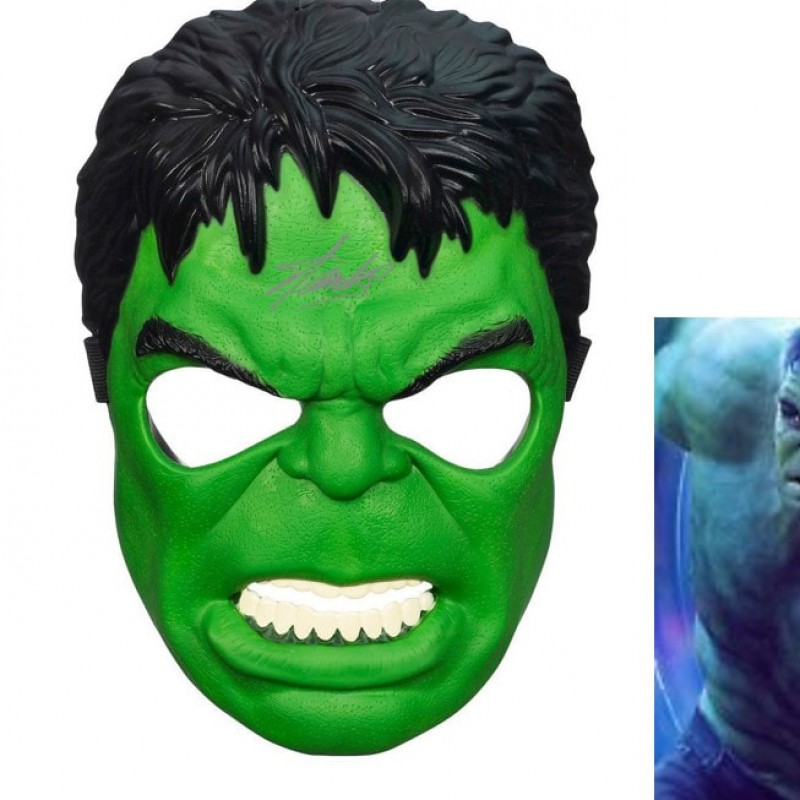 """The Incredible Hulk"" Mask with Stan Lee Printed Signature"