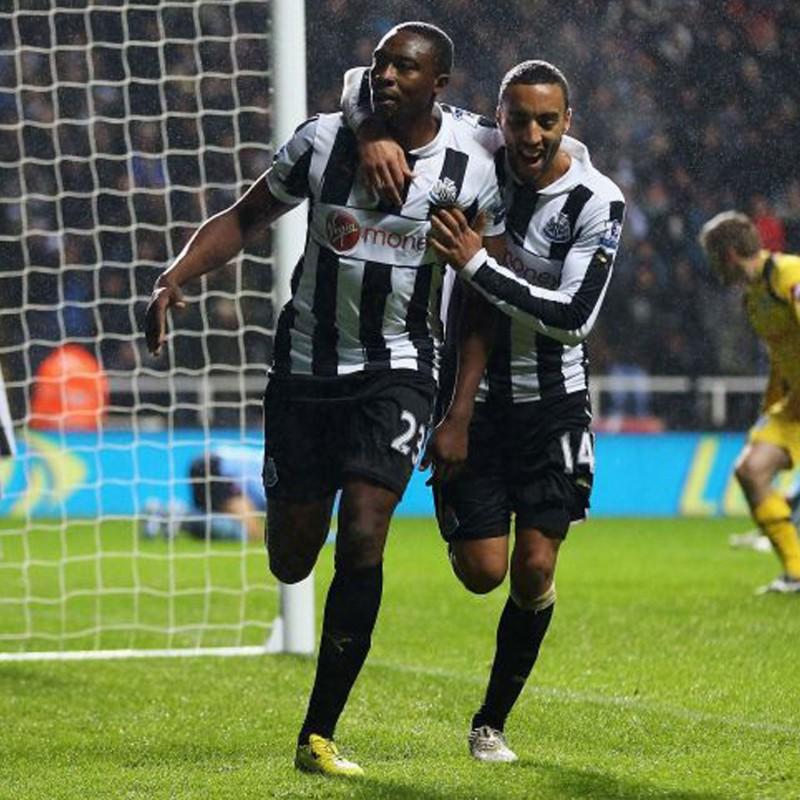 Ameobi's Official Newcastle Signed Shirt, 2012/13