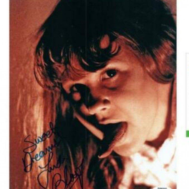 """Linda Blair """"The Exorcist"""" Hand Signed Photograph"""