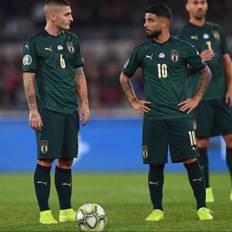 Insigne's Match Shirt, Italy-Greece 2019