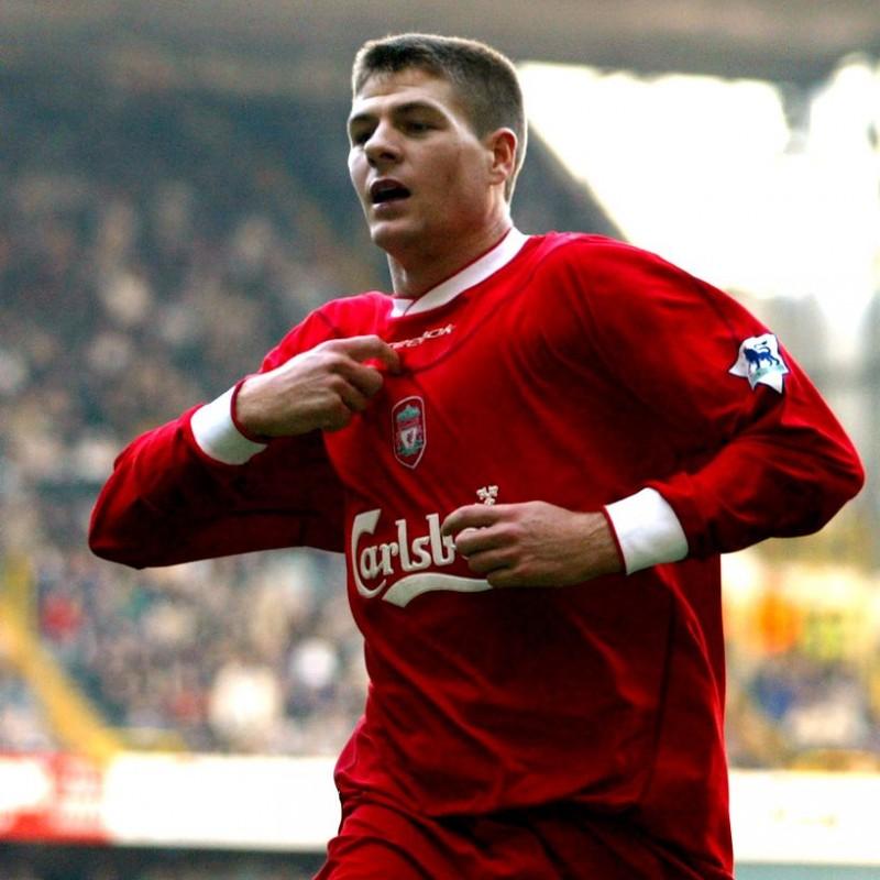 Maglia gara Gerrard Liverpool, 2002/03